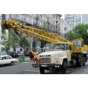 Автокраны Камышин КС-4562 грузоподъемность 20 тонн; описание, технические особенности, характеристики.