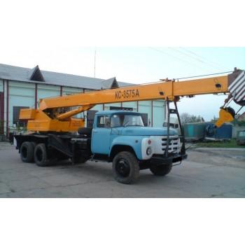 Автокраны Дрогобыч КС-3575А грузоподъемность 10 тонн; описание, технические особенности, характеристики.