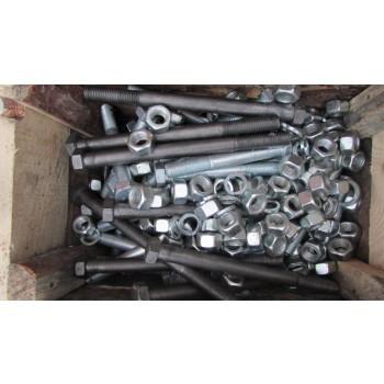 Комплект болтов, метизов для крепления опорно-поворотного устройства ОПУ-7 (9I-1В50-2320-1008, ОП-2500.3.2.16.3.Р У1) башенных кранов КБ-308, КБ-309, КБ-401, КБ-403, КБ-404, КБ-405, КБ-408, КБ-515, КБ-572