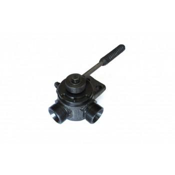 Кран двухходовой (двухпозиционный кран) У034.00.000-9 для автокранов Ивановец КС-3574, КС-3577, КС-35714, КС-35715