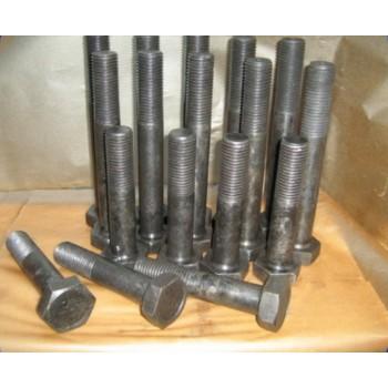 Болты, гайки, шайбы (гровер) для крепления опорно-поворотных устройств (ОПУ-6, ОПУ-7), болт крепления к раме поворотной, неповоротной для башенных кранов КБ-308, КБ-309, КБ-401, КБ-403, КБ-404, КБ-405, КБ-408, КБ-515, КБ-572