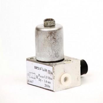 Электропневмовентиль ПР 2-3 (12В); (24В)