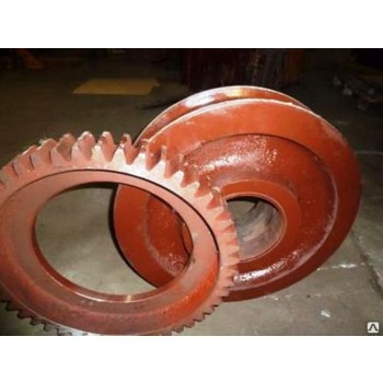 Венец зубчатый m-12 z-48 (ЛТ62.02.056 ведущего колеса) козлового крана ЛТ-62