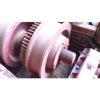 Колесо ходовое с венцом КС.07.05.000 (сталь 65Г) козлового крана ККС-10, КК-12,5