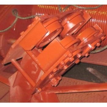 Каретка 4-х катковая козлового крана ККС-10, КК-12,5