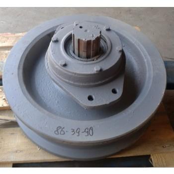 Колесо ходовое ведомое в сборе У2260.22А.01.000 башенного крана КБ-100…572Б