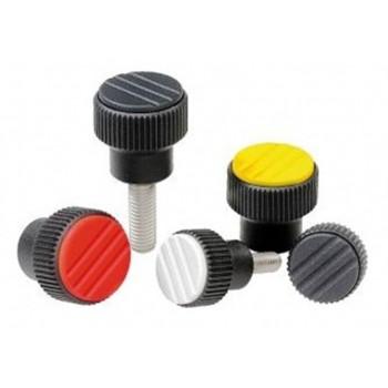 Ручки для приборов из пластика для рычагов управления промышленного оборудования, контрольного и медицинского оборудования, приборов (термопласт)