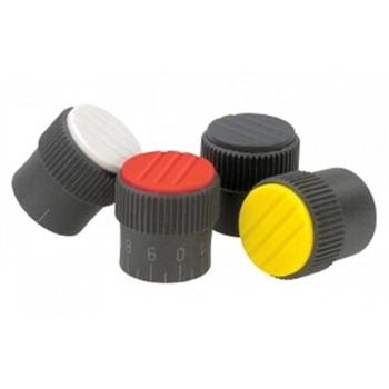 Ручки управления с накаткой, пластиковые для рычагов управления промышленного оборудования, контрольного и медицинского оборудования, приборов (термопласт)