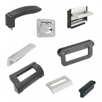 Ручки врезные накладные откидные рукоятки для раздвижных дверей и выдвижных ящиков