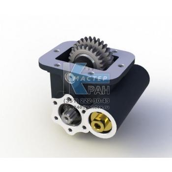 Коробка отбора мощности КОМ PTO ZF Ecolite S5-42 (7.55) пневматика