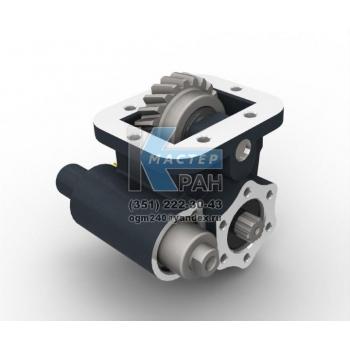 Коробка отбора мощности Iveco Eaton-Hema 475 SMLX-5 левый