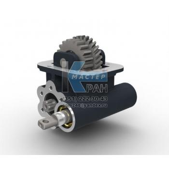 Коробка отбора мощности на Iveco ZF Ecolite 6 S 300