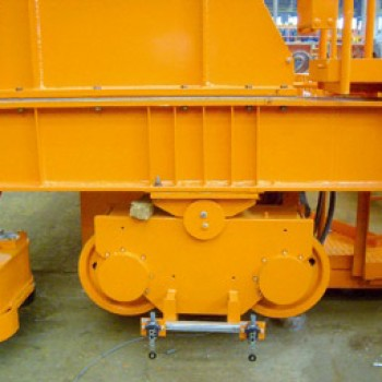 Механизм передвижения козлового крана ЛТ-62