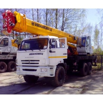 Продажа автокранов Ивановецы; обзор, технические особенности, характеристики.
