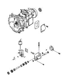 Коробка отбора мощности (КОМ) для Hyundai HD65, HD7