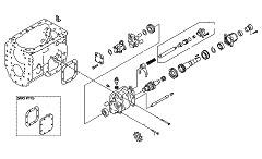 Коробка отбора мощности (КОМ) для Hyundai HD170