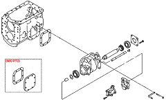 Коробка отбора мощности (КОМ) для Hyundai HD260