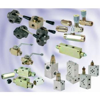 Гидравлическое оборудование клапана, гидрозамки, распределители