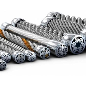 Канат стальной оцинкованный для грузоподъёмных кранов, буровых установок, портовых кранов, лифтов, нефтегазовой отрасли, горнодобывающей отрасли