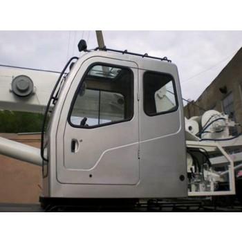 Стекло форточки подвижное правое (триплекс) Челябинец (800*665) новая кабина крановщика RSG