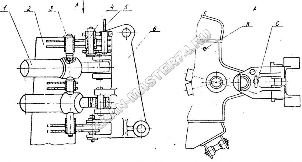 Грейферные погрузчики на базе МТЗ: технические.