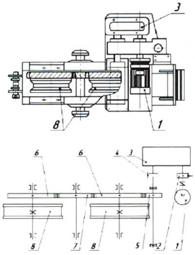 Механизм передвижения крана