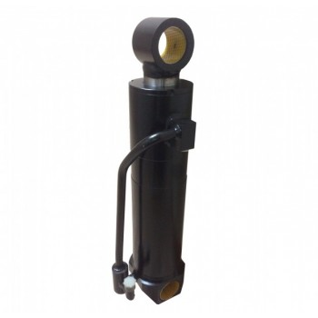 Гидроцилиндр лесного грейфера 94236830 (100х60х308) кран-манипулятора (гидроманипулятор) СФ-65 Соломбалец