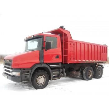 """Резино-технические изделия (РТИ) самосвала T124 """"Scania"""""""