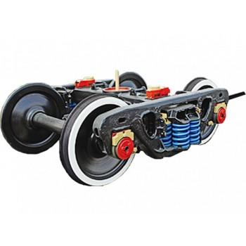 Тележка ходовая с механизмом передвижения и электродвигателем для железнодорожных кранов КЖДЭ-16, КЖДЭ-25, КЖ-461, КЖ-561, КЖ-462, КЖ-562, КЖ-662