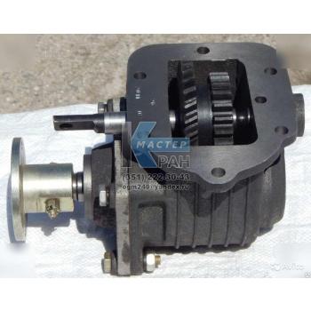 Коробка отбора мощности 3309,3308,4301 кардан + пневмовключение - ассенизатор,бензовоз