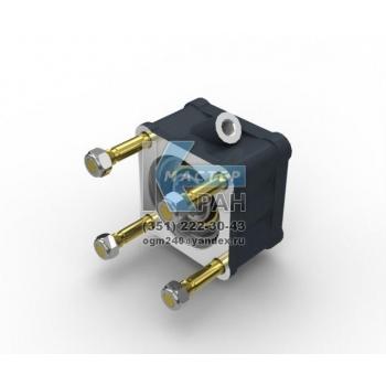 Коробка отбора мощности прямая + вал КОМ PTO ZF New Ecosplit 16S 2521 (13.80) TO Intarder