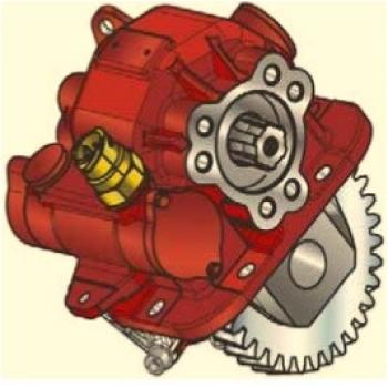 Коробка отбора мощности NSN/01 Appiah Hydraulics